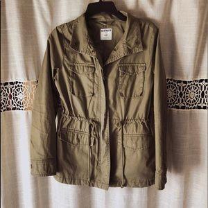 Army Green Fall Jacket